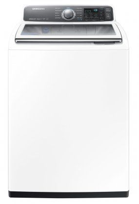 Samsung WA48J7700AW Activewash Washing Machine Review - Reviewed.com Laundry