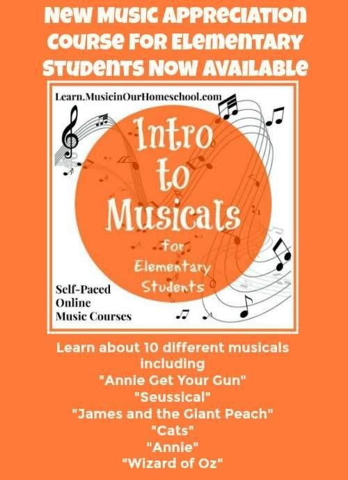 Intro To Musicals For Elementary Students Online Course Music