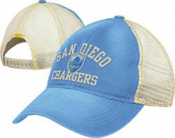 San Diego Chargers Women's Reebok Throwback Mesh Back Slouch Adjustable Hat $17.99 http://shop.chargers.com/San-Diego-Chargers-Womens-Reebok-Throwback-Mesh-Back-Slouch-Adjustable-Hat-_-349308309_PD.html?social=pinterest_pfid42-08839
