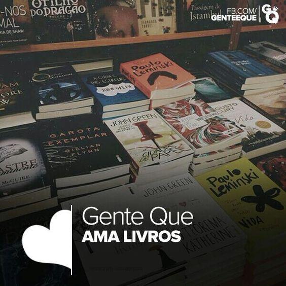 Gente que ama livros ♥♥