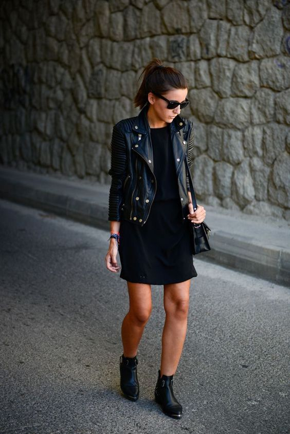16 Ideas Para Usar Un Little Black Dress En Invierno | Cut & Paste – Blog de Moda