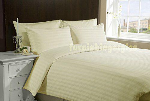Clicktostyle T200 Satin Stripe Duvet Cover Set With Pillo Https Www Amazon Co Uk Dp B07br8thzv Ref Cm Striped Duvet Covers Duvet Cover Sets Satin Stripes