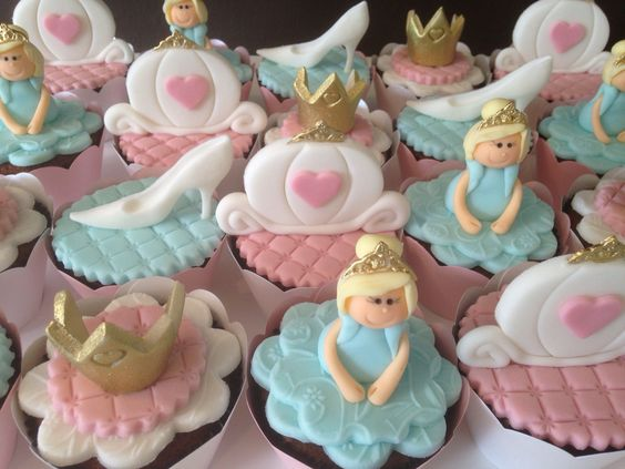Cinderela Cupcakes
