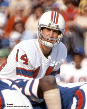 Ahhh...Steve Grogan. Loved watching him play! The reason I started loving the Patriots back in 1977!