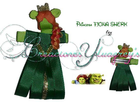 Escultura en cinta de la Princesa Fiona!!
