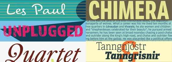 New on Typekit Hundreds of Fonts from Three Prolific Foundries