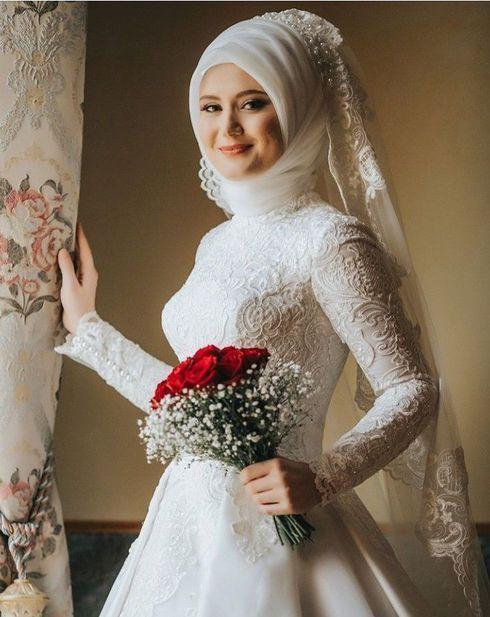 صور عروسة عرسان صورة عروسة بالحجاب صور لفة طرحة عروسة احلى عروسة وسة بالفستان الابيض فستان فرح Tul Gelinlikler Beyaz Dugun Elbiseleri Bohem Gelinlik