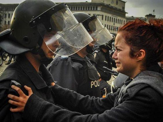 Protestas en Bulgaria contra el gobierno de Plamen Oresharsk -foto de Stefan Stefanov