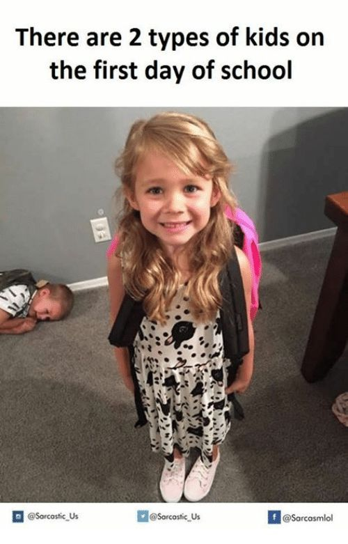 Most Funny Quotes : Top 27 First Day of School Memes   Funny kid ...