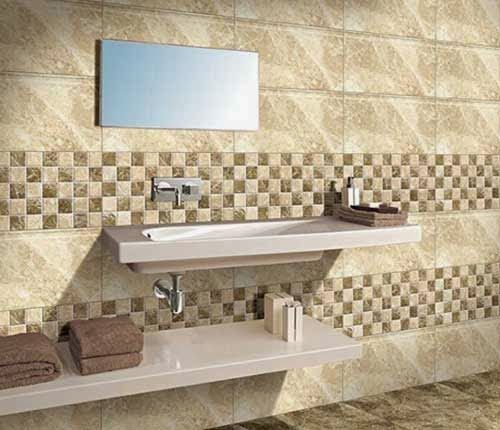 Pisa Marfil Pisa Highlighter Innovative Ideas For Bathroom Remodeling With Kajaria Modern Bathroom Design Bathroom Wall Tile Design Small Bathroom Interior