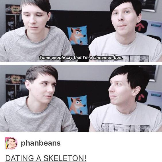Dan And Phil Dating A Skeleton