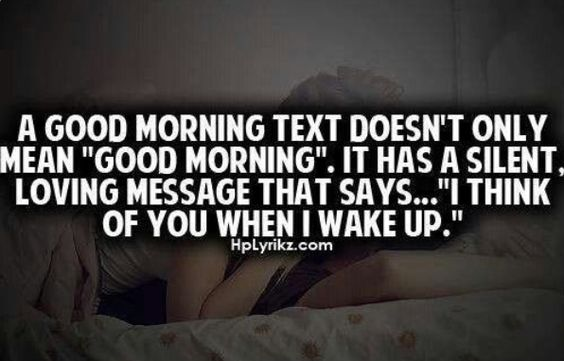 Good Morning Txts : There The Best : Think Of You When