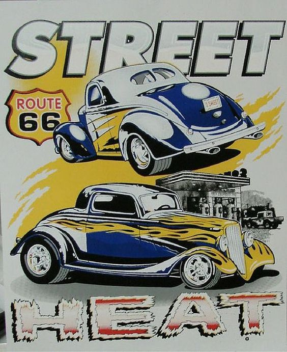 Two Vintage Old Cars Hot Rod Mens Car T Shirt