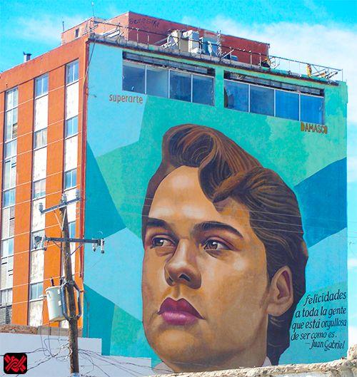 mural de juan gabriel en ciudad ju rez realizado por