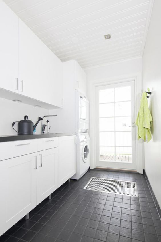 grey tiles laundry rooms and grey on pinterest