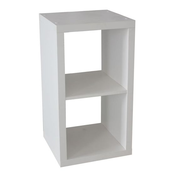 Clever Cube 1 X 2 White Storage Unit Ikea Floating Shelves Floating Shelves Bedroom Floating Shelves Bathroom