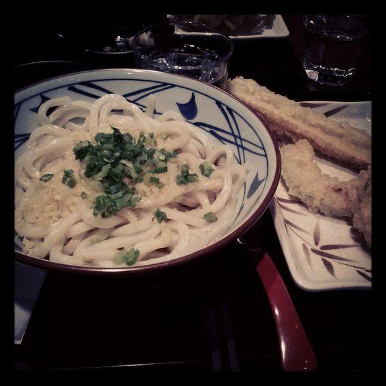 Japanese noodles@marugameseimen(丸亀製麺)