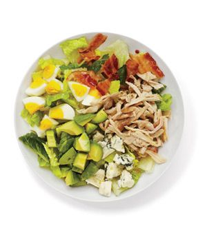 Chicken Cobb Salad: Protein-rich ingredients—like avocado, eggs, and chicken—give this salad staying power.