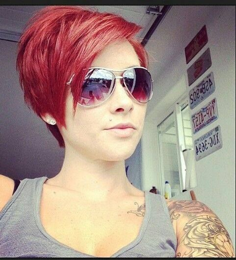 Gib deinen Haare etwas mehr Pfiff! 17 Trendy Kurzhaarfrisuren in Rot, die Du sicherlich nicht verpassen solltest! - Seite 6 von 16 - Neue Frisur