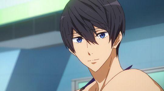 Free Tym Haru Smiling Free Anime Free Eternal Summer Free Iwatobi