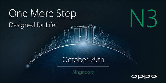 Interesante: El Oppo N3 llegará el 29 de octubre