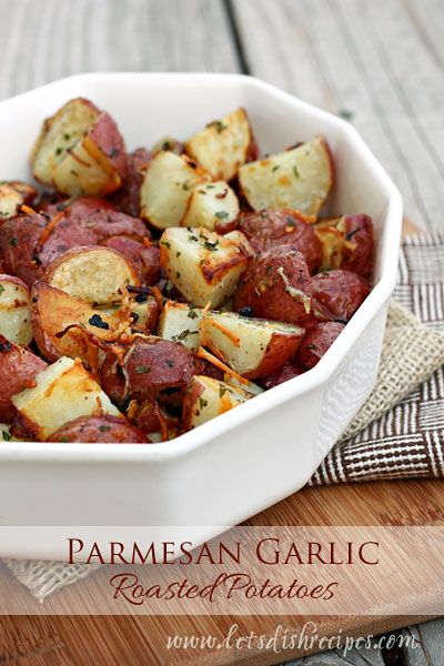 ... garlic roasted potatoes roasted potatoes potato side dishes simple