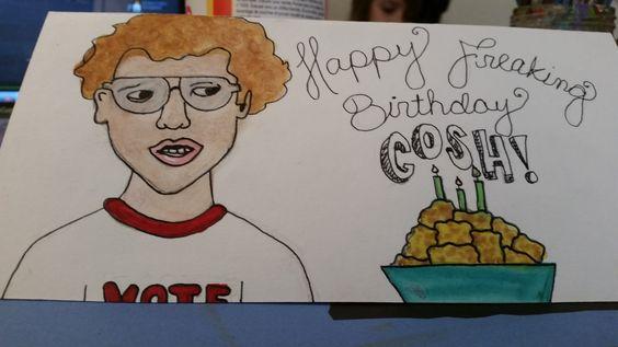 Napoleon Dynamite birthday card