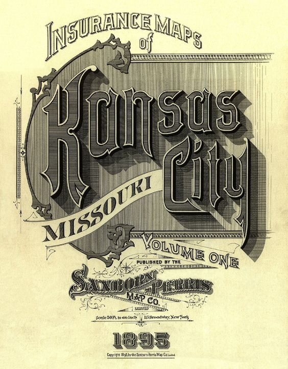 Kansas City Sanborn Fire Insurance Map
