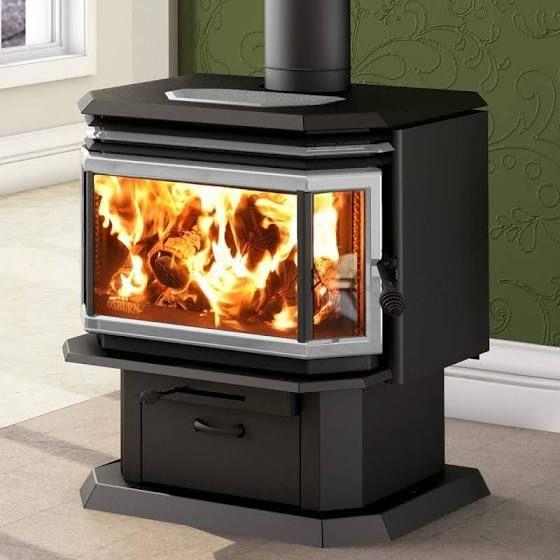 Wood Fireplace Glass On 3 Sides Cast Iron Wood Stove Wood Stove Fireplace Wood Burning Stove