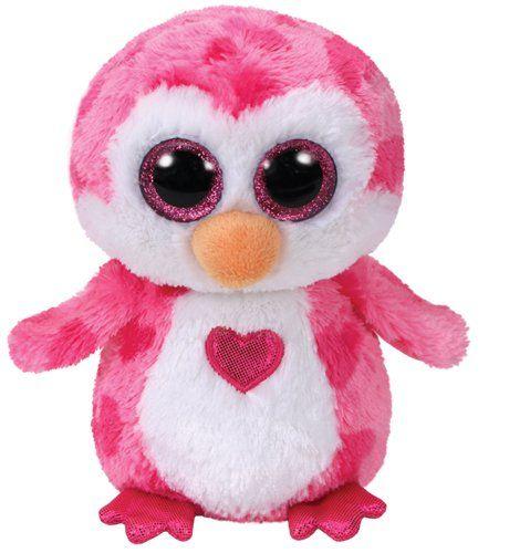 Ty Valentines Juliet Pink Penguin Beanie Boos 6 Com Imagens