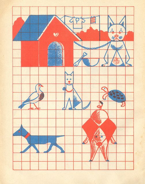 n2 cahier dessin carreau p23 by pilllpat (agence eureka), via Flickr