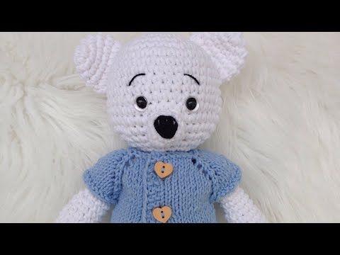 AMIGURUMI Ayıcık Tarifi ( Teddy Bear Crochet Tutorial) (ENGLISH ... | 360x480