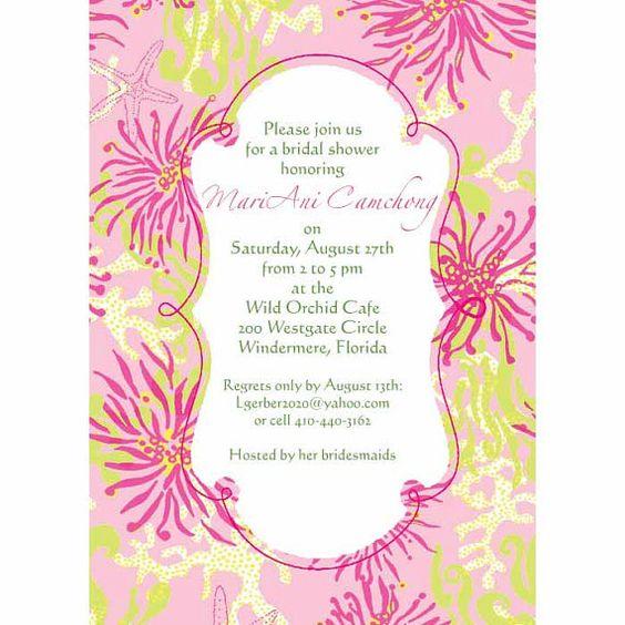 Bridal Shower Invites