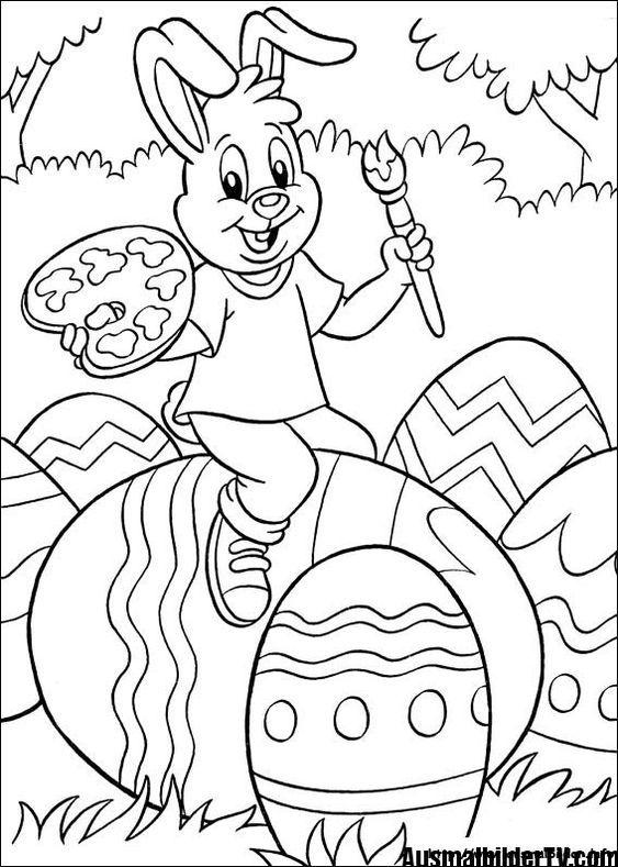 Ausmalbilder Ostern Ausmalbilder Ostern Malvorlagen Ostern Osterei Ausmalbild