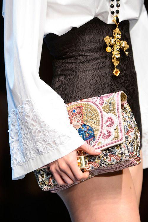 Dolce & Gabbana  Fall 2013  RTW Details