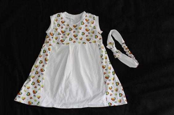 Bodys - Sommerkleid und Haarband - ein Designerstück von kuebler-stenzel bei DaWanda