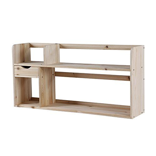 Emma Home Sj Small Wooden Shelves On The Table 2 Storey Student