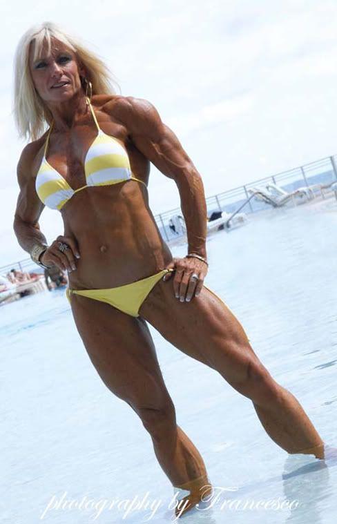 mature fitness bikini