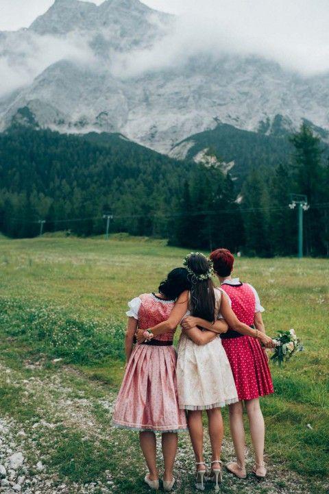 Silke & Andreas: Wenn glamouröse Alpenromantik das Hochzeitsmotto ist ...