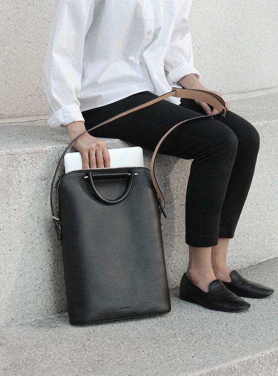 laptop work bag by building block — explore our parcels of elevated essentials for minimalist design enthusiasts @ minimalism.co: