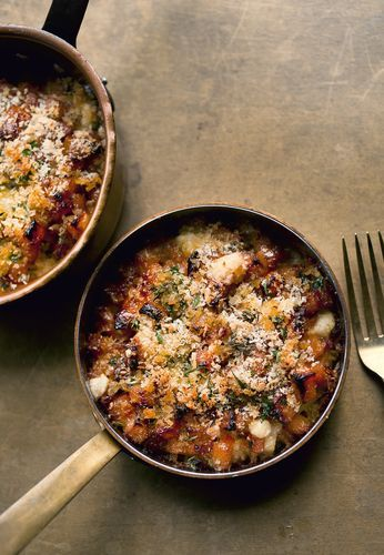 Looking for a different kind of side dish to serve at the table this Christmas? Why not try this Fondant Swede Gratin, which also includes Savoy Cabbage, Caerphilly cheese and breadcrumbs, from Ottolenghi and Scully's cookbook NOPI.