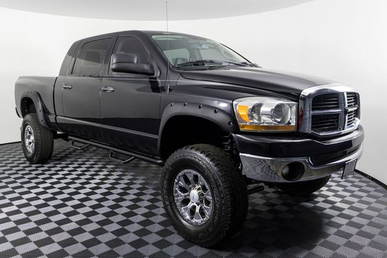 2006 Dodge Ram 1500 Slt 4x4 Clean Carfax Lifted Mega Cab With Aftermarket Stereo Dodge Ram 1500 Dodge Ram 4x4 Trucks For Sale