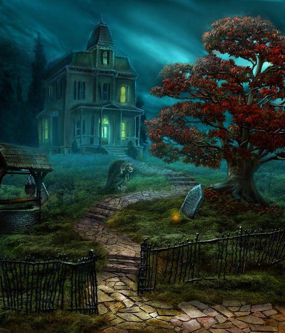 Halloween themed work by olga-idealist on deviantART