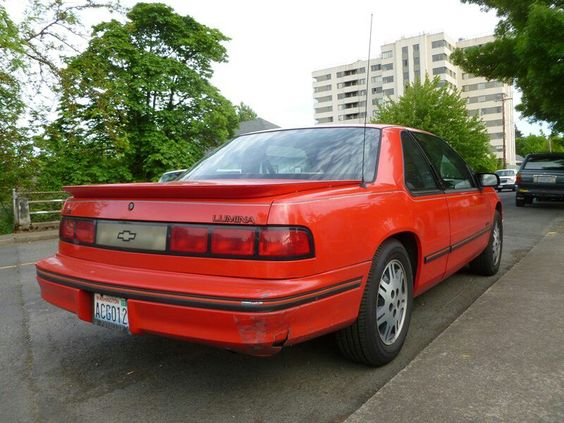 One of two Chevy Lumina I owned. Same color same time