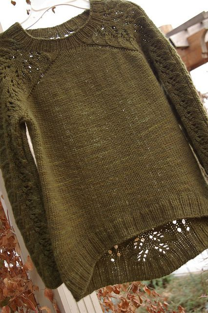 Bloomsbury Sweater Knit Pattern // Ravelry