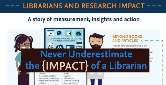 Nunca subestimar o impacto {} de um bibliotecário