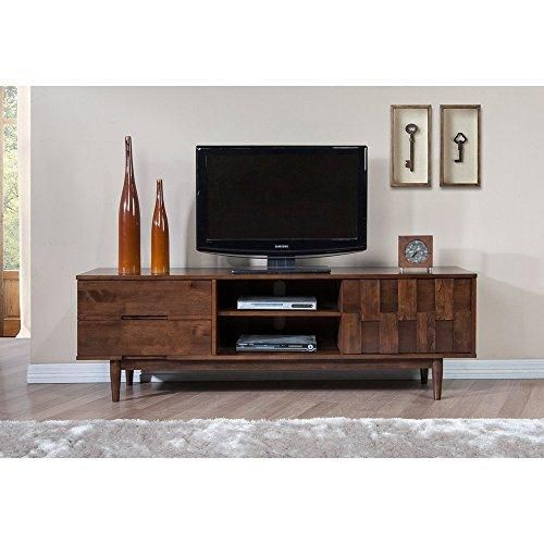 Mid Century Danish Style Wood 70 Inch Media Console Tv Stand In