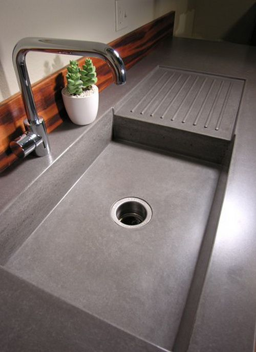 Concrete Countertop Ideas And Examples Part 1 Of 2 Pictures Kitchen Pinterest