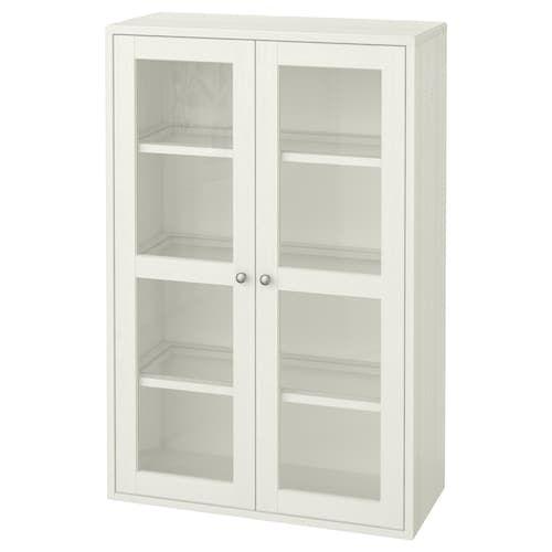 Havsta Cabinet With Base White 31 7 8x18 1 2x35 Ikea In 2020 Glass Cabinet Doors Ikea Glass Door