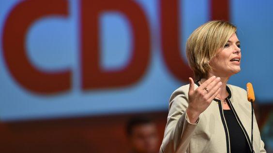 CDU-Politkerin Julia Klöckner